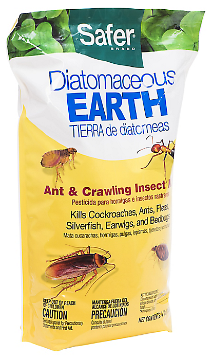 Diatomaceous Earth for pest control
