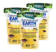 3 Bags - Safer® Brand Diatomaceous Earth 4 lb