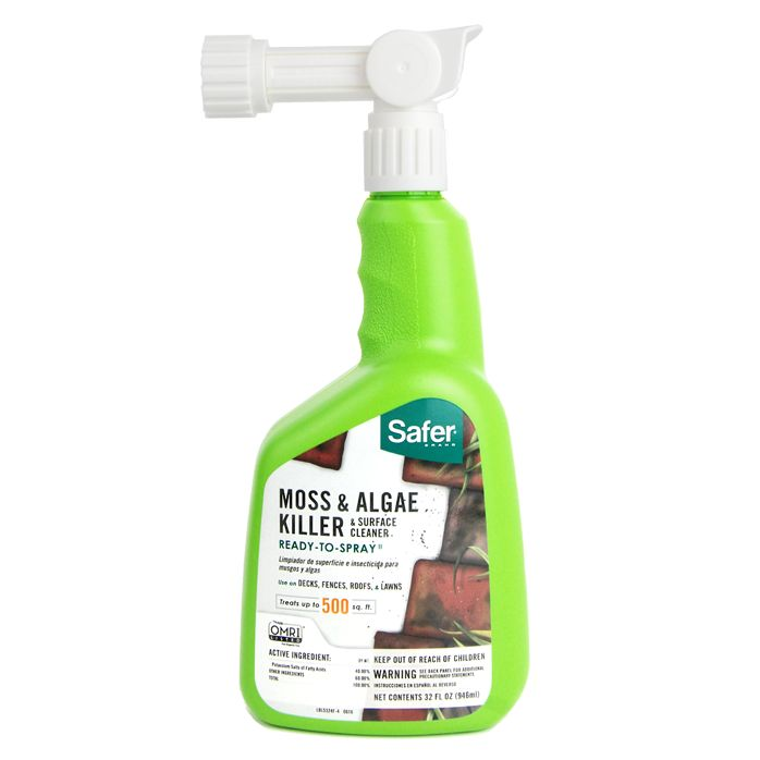 Moss & Algae Killer & Surface Cleaner Concentrate 32oz ...