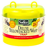 Safer® Brand Deluxe Yellow Jacket & Wasp Reusable Trap With Bait - 1 Trap
