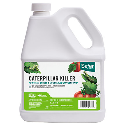 Safer® Brand Caterpillar Killer II With B T  Concentrate 1 gal