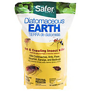 Safer® Brand Diatomaceous Earth - Bed Bug, Flea, Ant, Crawling Insect Killer 4 lb
