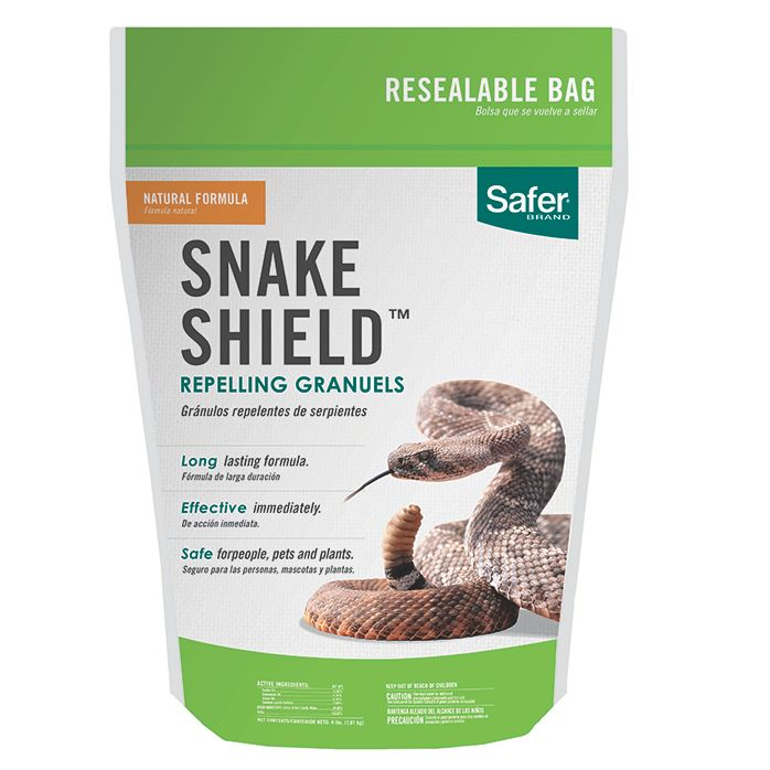 Safer® Brand Snake Shield™ Snake Repellent - 4 lb   Model #5951    Saferbrand com