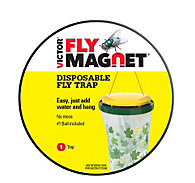 Victor® Poison-Free® Fly Magnet® Disposable Fly Trap With Bait - 6 Traps