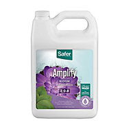 Amplify (2-0-8) Hydroponic Nutrient Fertilizer Liquid Concentrate - 1 gallon By Safer® Brand