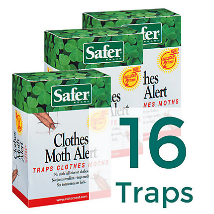 16 Traps - Safer® Brand Clothes Moth Trap
