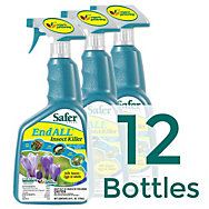 12 Bottles - Safer® Brand End ALL® Insect Killer 24oz RTU