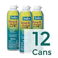 12 Cans - Safer® Brand Wasp and Hornet Killer
