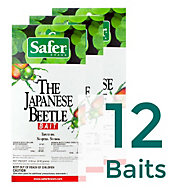 12 Baits - Safer® Brand Japanese Beetle Trap Replacement Bait