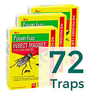 72 Traps - Victor® Poison-Free® Insect Magnet®