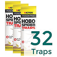 32 Traps - Victor® Poison Free® Hobo Spider Trap