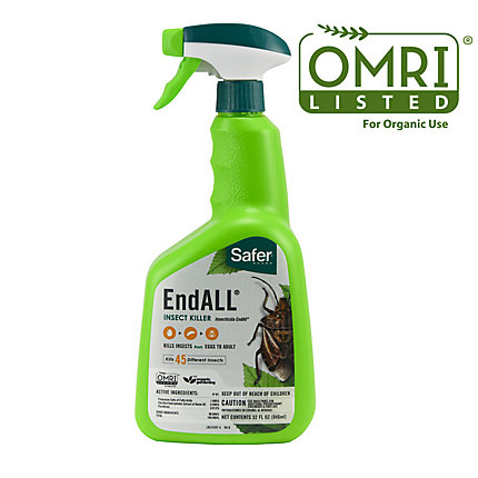 Safer® Brand 32 oz. Ready-To-Use End ALL® Insect Killer OMRI Listed® for Organic Use