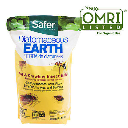 Diatomaceous Earth 4lbs Omri Listed Safer Brand