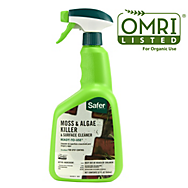 Safer® Brand RTU 32 oz. Moss and Algae Killer and Surface Cleaner OMRI Listed® for Organic Use