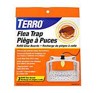 TERRO® Flea Trap Refill Glue Boards – 3 Pack