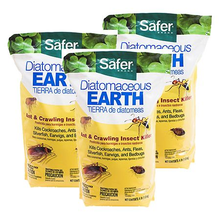 Safer Brand Diatomaceous Earth 4 Lb