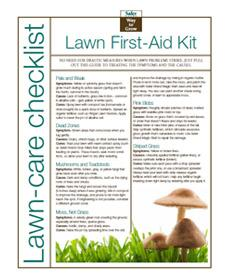 Lawn First-Aid Kit