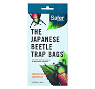 3 Japanese Beetle Trap Replacement Bags - Safer® Brand