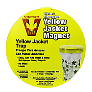 Victor® Poison-Free® Yellow Jacket Magnet® Disposable Bag-Trap With Bait