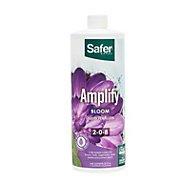 Amplify (2-0-8) Hydroponic Nutrient Fertilizer Liquid Concentrate - 32 oz By Safer® Brand