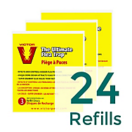 24 Refills - Victor® The Ultimate Flea Trap™ Refills